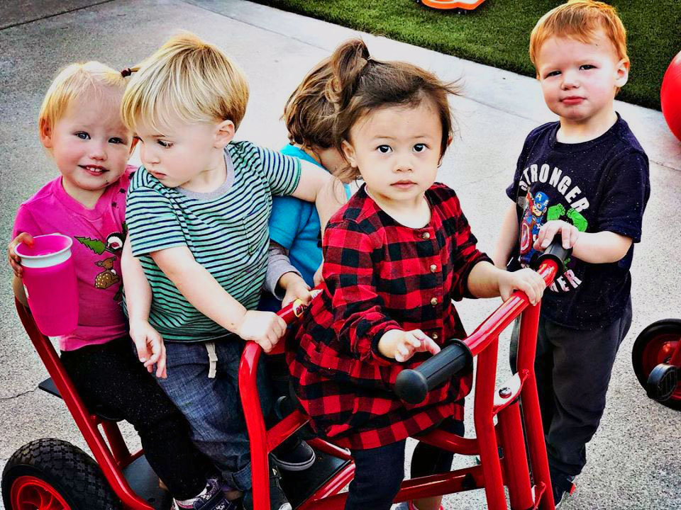 happy children at a Preschool & Daycare Serving North Hollywood & Santa Monica, CA
