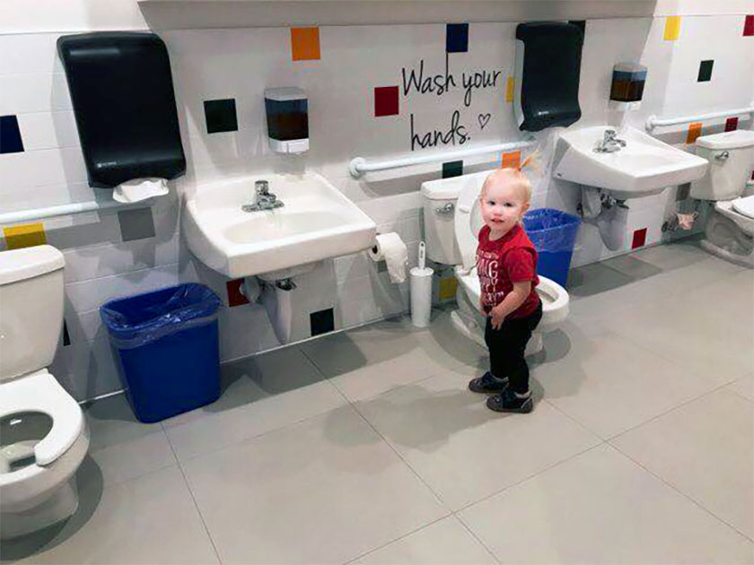 toddler potty training at a Preschool & Daycare Serving North Hollywood & Santa Monica, CA