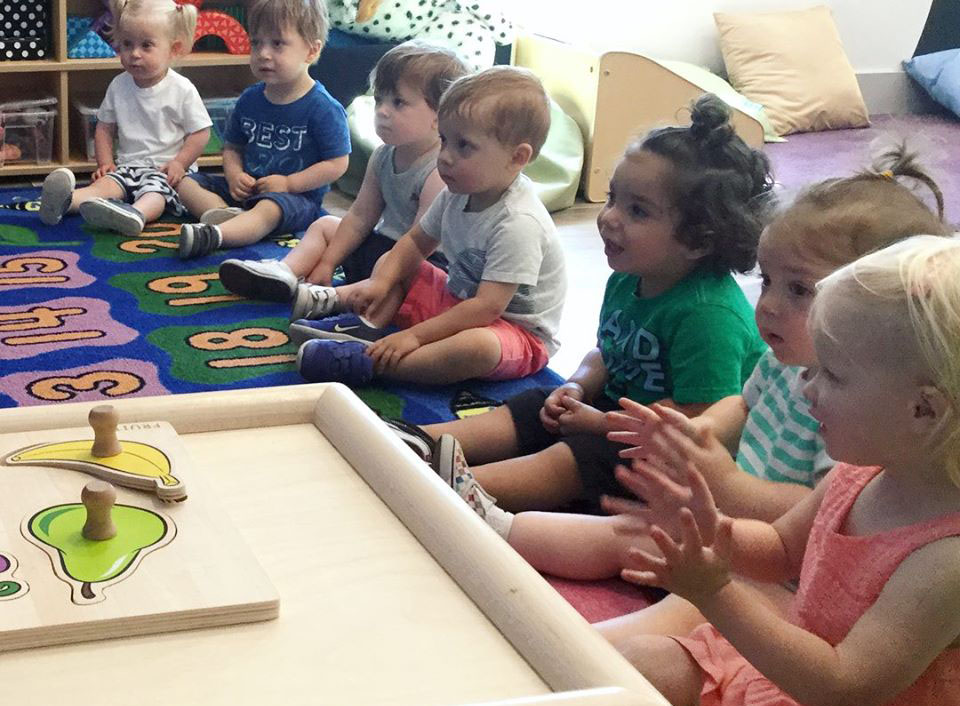toddlers in classroom at a Preschool & Daycare Serving North Hollywood, Santa Monica & Van Nuys, CA